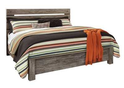 Image for Cazenfeld Black/Gray King Panel Bed