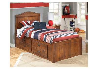 Image for Barchan Twin Panel Bed w/ Storage