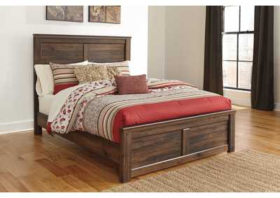 Image for Quinden Queen Panel Bed