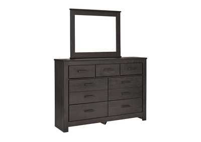 Image for Brinxton Black Bedroom Dresser w/Mirror