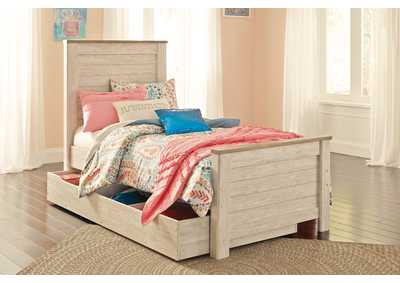 Image for Willowton Full Panel Bed with 1 Large Storage Drawer