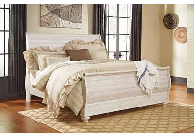 Image for Willowton King Sleigh Bed