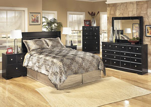 Image for Shay Queen/Full Panel Headboard, Dresser, Mirror, Chest & Night Stand