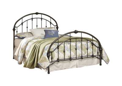 Image for Bronze Finish Metal King Bed