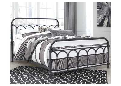 Image for Nashburg Queen Metal Bed