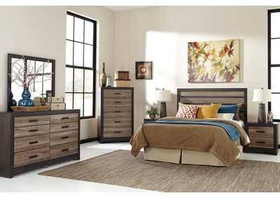 Image for Harlinton Queen/Full Panel Headboard, Dresser & Mirror