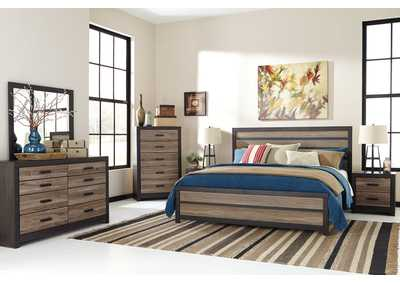 Image for Harlinton Queen Panel Bed, Dresser & Mirror