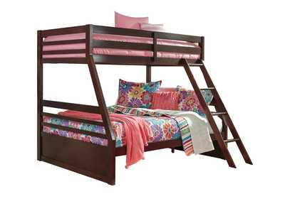 Image for Halanton Dark Brown Twin/Full Bunkbed