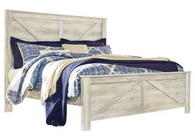 Image for Bellaby King Crossbuck Panel Bed