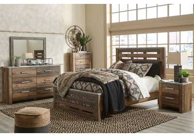 Image for Chadbrook Brown Queen Panel Bed w/Dresser and Mirror