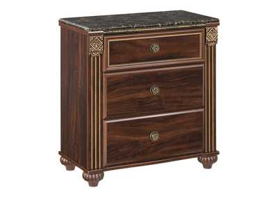 Image for Gabriela 3 Drawer Nightstand