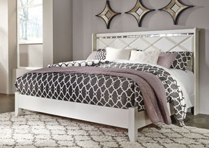 Image for Dreamur Champagne King Panel Bed