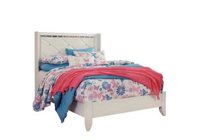 Image for Dreamur Champagne Twin Panel Bed