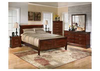 Image for Alisdair California King Sleigh Bed, Dresser & Mirror