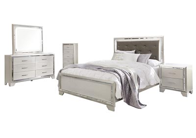 Image for Lonnix Queen Panel Bed w/Dresser & Mirror