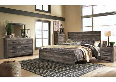 Wynnlow King Panel Bed w/Dresser and Mirror,Signature Design By Ashley