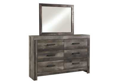 Image for Wynnlow Gray Rustic Dresser and Mirror