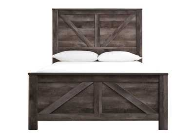 Wynnlow Queen Crossbuck Panel Bed,Signature Design By Ashley