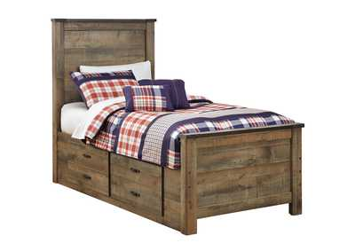 Image for Trinell Brown Twin Storage Bed