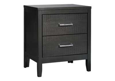 Image for Delmar Gray Nightstand