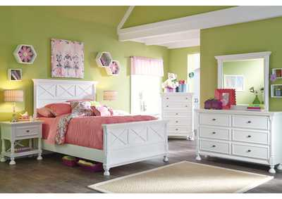 Kaslyn Full Panel Bed, Dresser & Mirror,Signature Design By Ashley