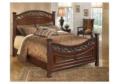 Image for Leahlyn King Panel Bed