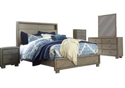 Arnett King Bookcase Bed w/Dresser and Mirror,Signature Design By Ashley
