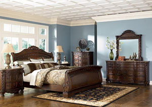 Image for North Shore King Sleigh Bed