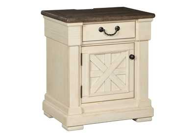 Image for Bolanburg Antique White One Drawer Night Stand