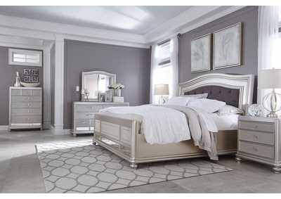 Image for Coralayne Queen Panel Bed w/Dresser and Mirror