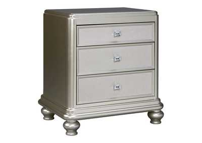 Image for Coralayne Silver Three Drawer Night Stand