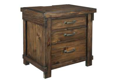 Image for Lakeleigh Brown Three Drawer Night Stand