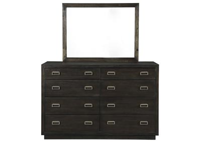 Image for Hyndell Dark Brown Dresser and Mirror