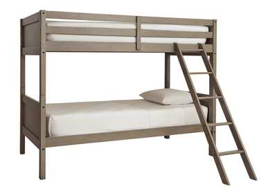 Image for Lettner Twin/Twin Bunk Bed with Ladder