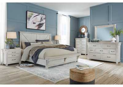 Image for Brashland Queen Panel Bed w/Dresser and Mirror