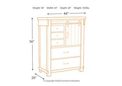 Brashland Chest of Drawers,Signature Design By Ashley
