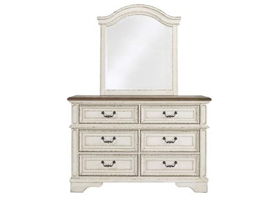 Image for Realyn Chipped White Youth Dresser w/Mirror