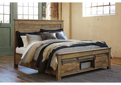 Image for Sommerford Brown King Storage Bed