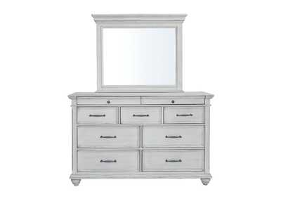 Image for Kanwyn Whitewash Dresser w/Mirror