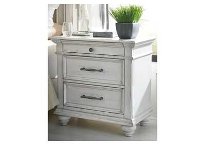 Image for Kanwyn White Nightstand
