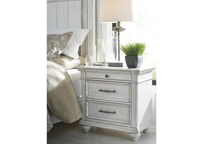 Kanwyn Whitewash Nightstand,Benchcraft