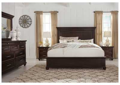 Brynhurst Brown California King Panel Bed,Signature Design By Ashley