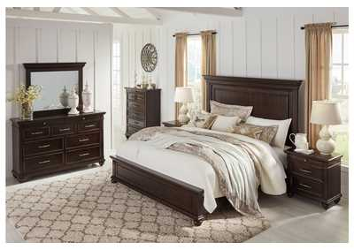 Brynhurst Brown King Panel Bed,Signature Design By Ashley