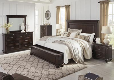 Brynhurst Brown California King Storage Bed,Signature Design By Ashley