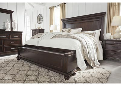 Brynhurst Brown Queen Storage Bed,Signature Design By Ashley