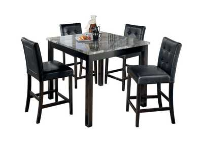 Maysville Square Counter Height 5 Piece Dining Set