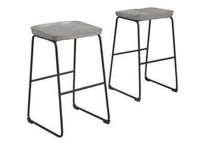 Image for Showdell Pub Height Bar Stool (Set of 2)