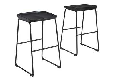 Showdell Pub Height Bar Stool (Set of 2)