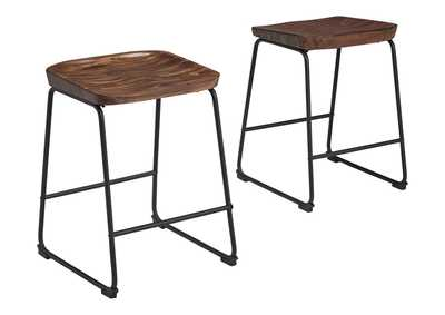Image for Showdell Counter Height Bar Stool (Set of 2)