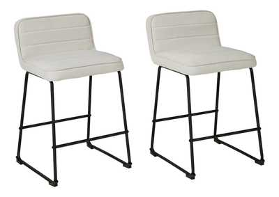 Image for Nerison Counter Height Bar Stool (Set of 2)